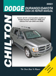 Chilton Dodge Durango 2004-2009 & Dakota Pick-ups 2005-2011 Car Repair Manual