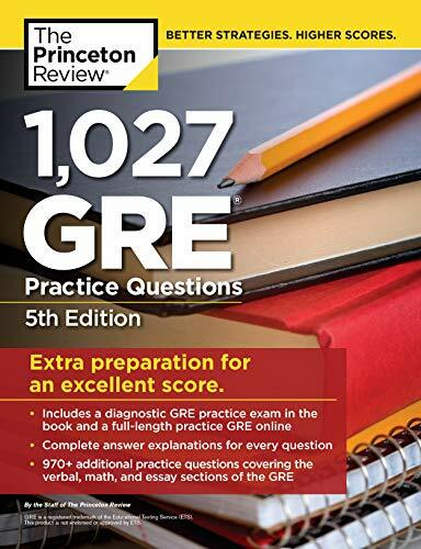 1 027 GRE Practice Questions 5th Edition