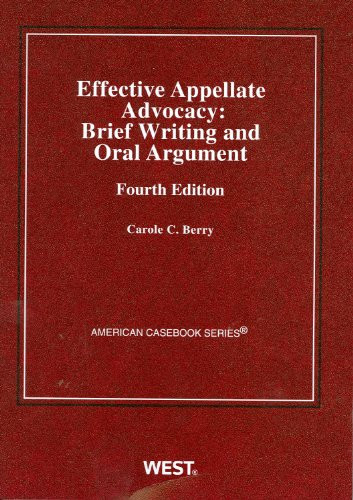 Effective Appellate Advocacy