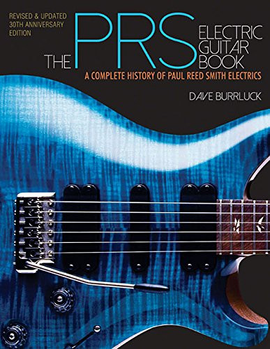 prs electric guitar book by dave burrluck. Black Bedroom Furniture Sets. Home Design Ideas