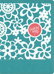 NIV Beautiful Word Coloring Bible for Girls Leathersoft over Board Teal