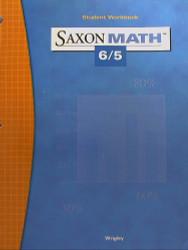 Saxon Math 6/5 Student Workbook