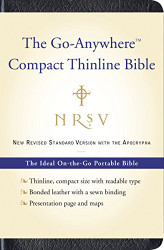 Nrsv Go-Anywhere Compact Thinline Bible With The Apocrypha