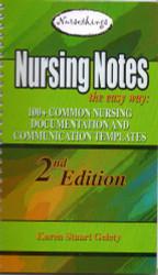 Nursing Notes The Easy Way