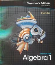 Algebra 1 Vol. 1 Teacher'S Edition