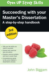 Succeeding with Your Master's Dissertation
