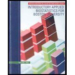 Introductory Applied Biostatistics For Boston University Volume 1