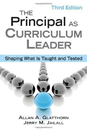Principal As Curriculum Leader