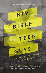NIV Bible for Teen Guys