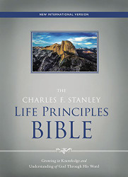 NIV The Charles F. Stanley Life Principles Bible Hardcover