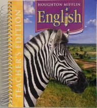 English Teacher's Edition Grade 5