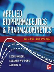 Applied Biopharmaceutics And Pharmacokinetics