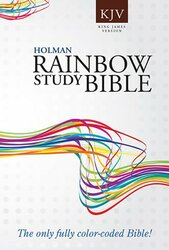 KJV Rainbow Study Bible Trade Paper
