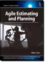 Agile Estimating And Planning by Cohn Mike