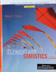 Elementary Statistics - Instructor's