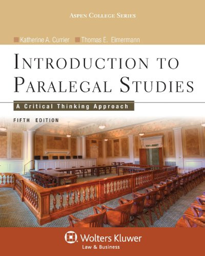 Introduction to Paralegal Studies