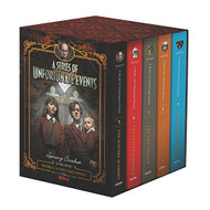 Series of Unfortunate Events #5-9 Netflix Tie-in Box Set