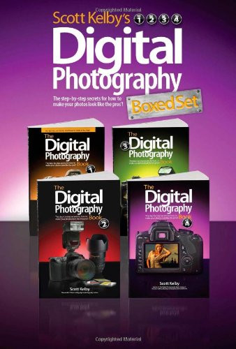 Scott Kelby's Digital Photography Boxed Set Parts 1 2 3 and 4