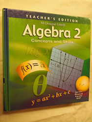 Algebra 2 Concepts and Skills: Teacher's Edition