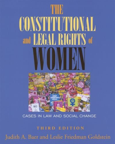 Constitutional and Legal Rights of Women