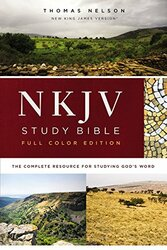 NKJV Study Bible Hardcover Full-Color Comfort Print