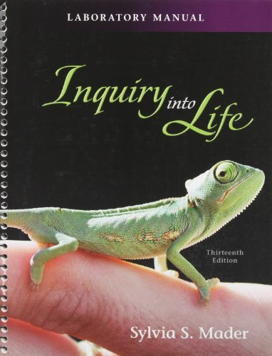 Lab Manual t/a Inquiry into Life