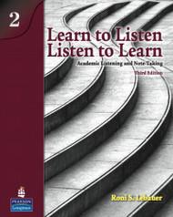 Learn to Listen Listen to Learn Level 2