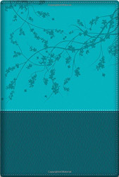 NKJV A Woman After God's Own Heart Devotional Bible SatinTone Teal
