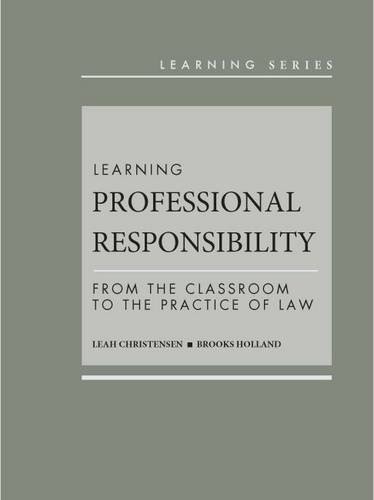 Learning Professional Responsibility