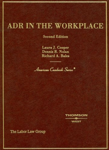 Adr In The Workplace