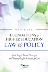 Foundations Of Higher Education Law and Policy