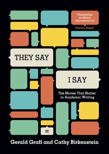 They Say / I Say