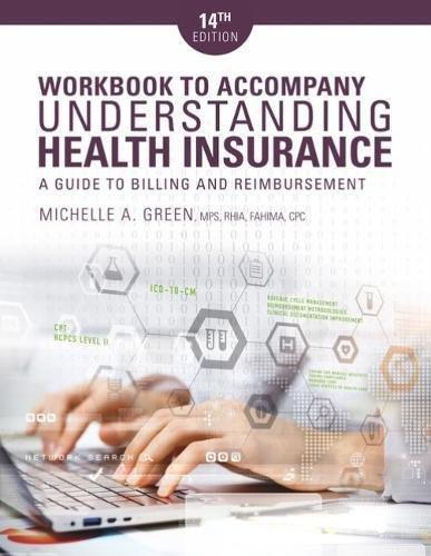 Workbook for Understanding Health Insurance