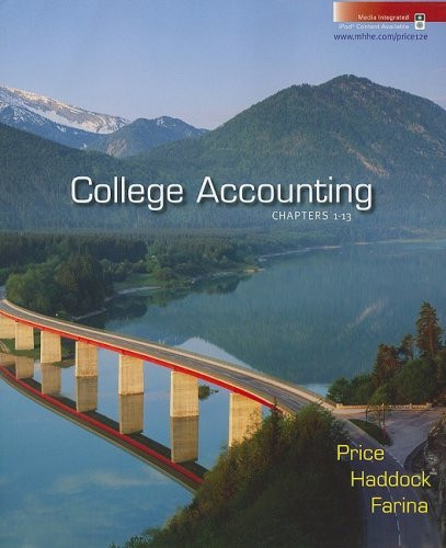 College Accounting Chapters 1-13