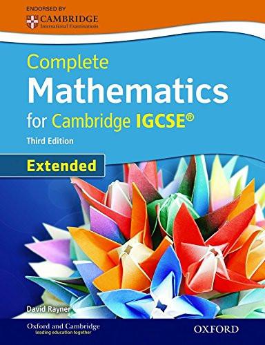 Mathematics for  Cambridge IGCSERG