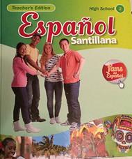 Espanol Santillana High School Teacher'S Edition 2