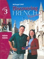 Discovering French Nouveau Level 3 2004 (McDougal Littell Discovering French Rouge 3)