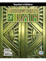 Fundamentals Of Math
