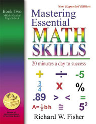 Mastering Essential Math Skills Book Two Middle Grades/High School....INCLUDING