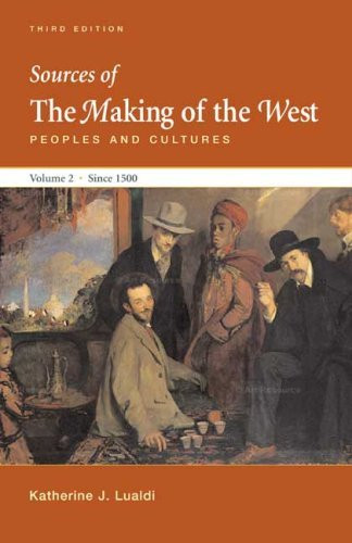 Sources Of The Making Of The West Volume 2