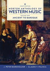 Norton Recorded Anthology of Western Music Volume 1