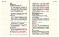 KJV Journal the Word Bible Cloth over Board Pink Floral Red Letter Edition