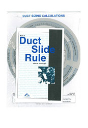 Duct Calculation Slide Rule