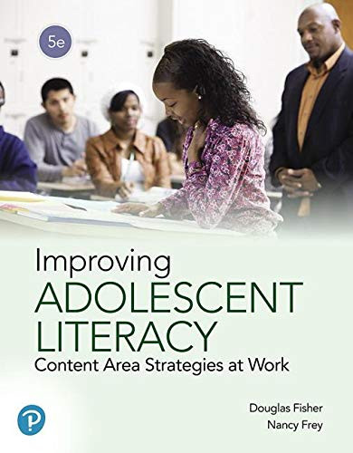 Improving Adolescent Literacy