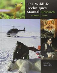 Wildlife Techniques Manual Volume 1