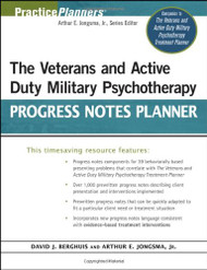 Veterans And Active Duty Military Psychotherapy Progress Notes Planner
