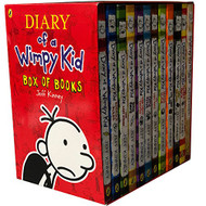 Diary of a Wimpy Kid 12 Books Complete Collection Set Box of Books NEW