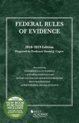 Federal Rules of Evidence with Faigman Evidence Map