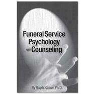 Funeral Service Psychology And Counseling