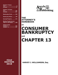 Attorney's Handbook on Consumer Bankruptcy and Chapter 13